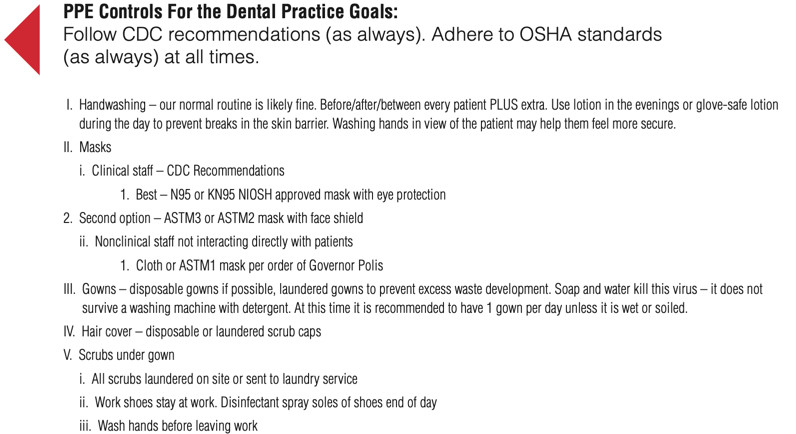 PPE Controls for the Dental Practice Goals in Denver, CO