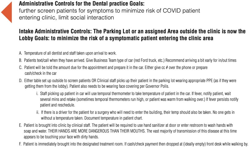 Administrative Control for Dental Practice Goals